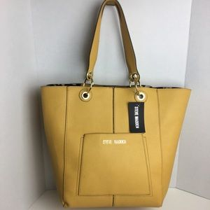 Steve Madden Large Yellow Tote
